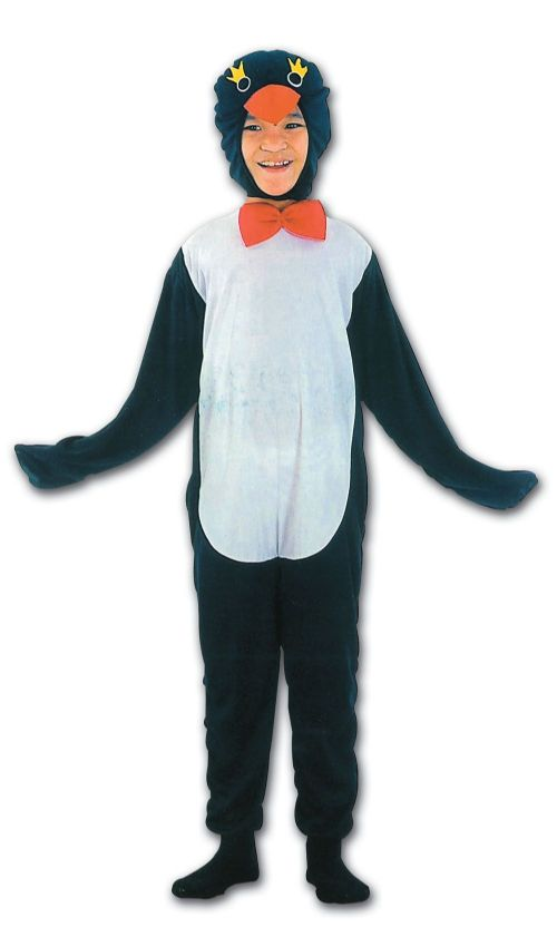 Childs Penguin Budget Costume Artic Pole Animal Sea Bird Fancy Dress Outfit
